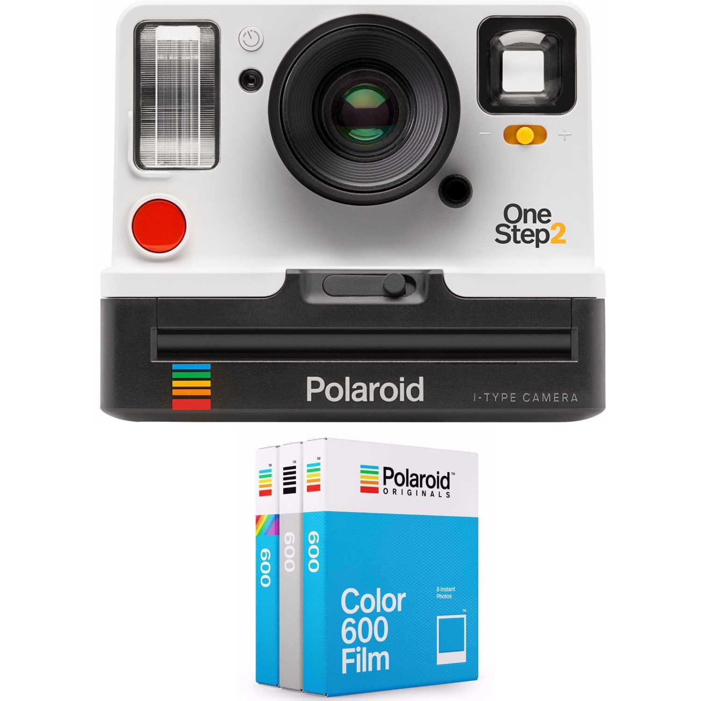 Polaroid Originals OneStep2 i-Type Instant Film Camera (White) + Standard Color i-Type Film (8 Exposures) by Polaroid Originals