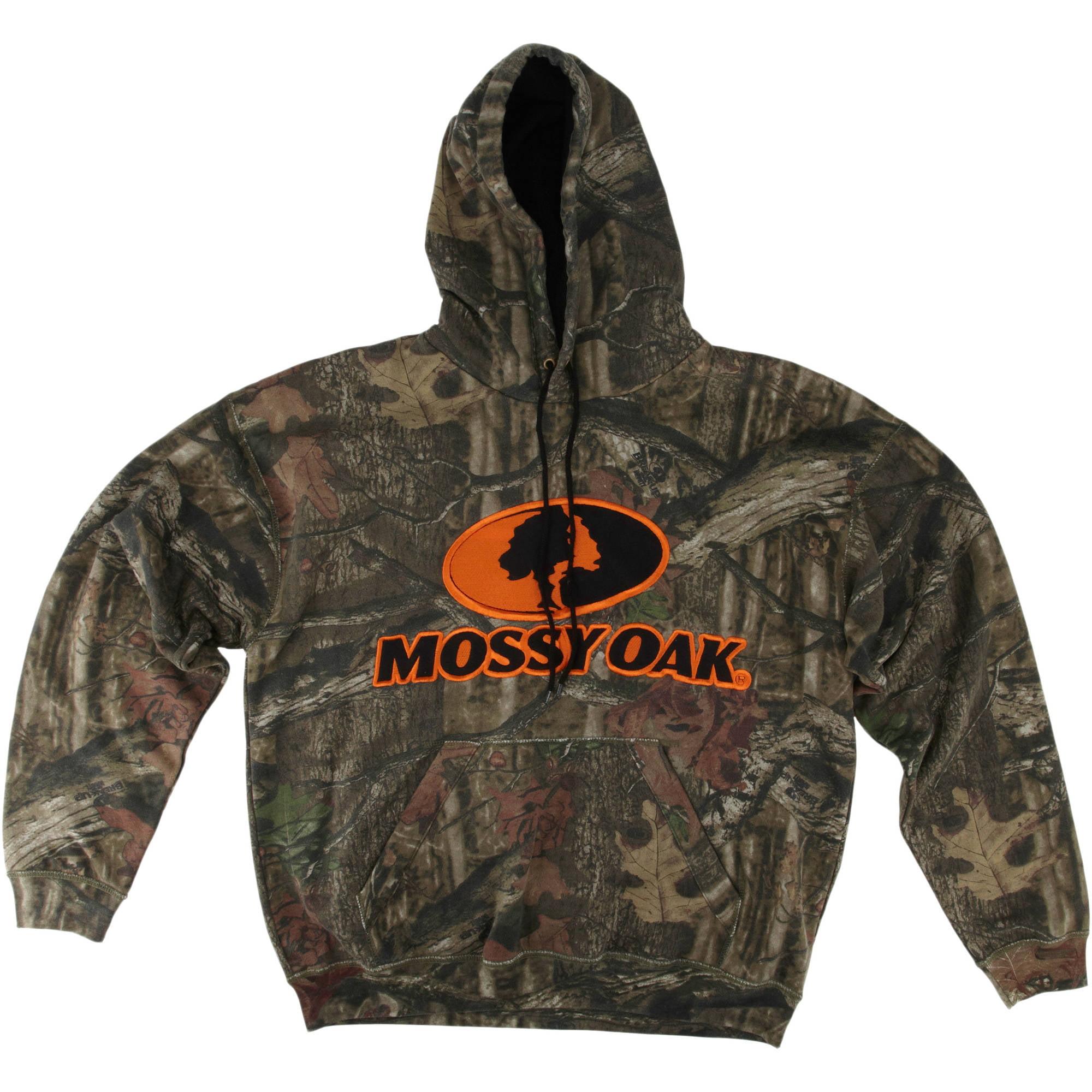 Mossy Oak Infinity Men's Logo Hoodie, Camo