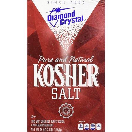Scented Salt Crystals - and Natural Kosher Salt, 48oz (Pack of 3) Diamond Crystal Pure