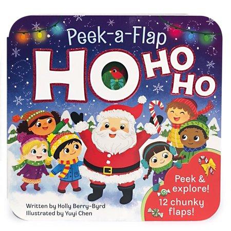 Ho Ho Ho: Peek-A-Flap Board Book (Board - Ho Ho Ho Necklace