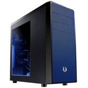 Bitfenix Neos Window Bfc-neo-100-kkwsb-rp No Power Supply Atx Mid Tower [black/blue]