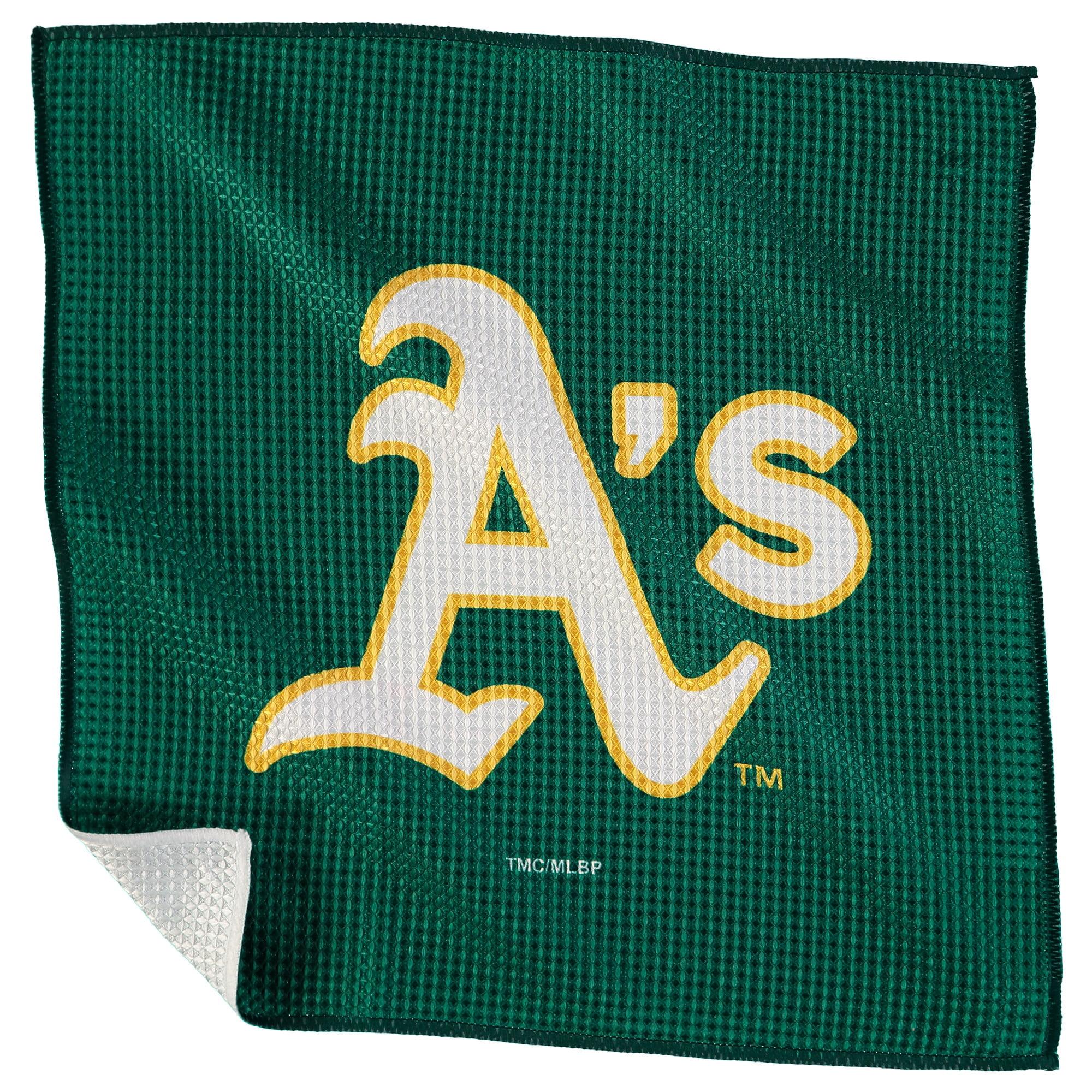 "Oakland Athletics 16"" x 16"" Microfiber Towel - No Size"