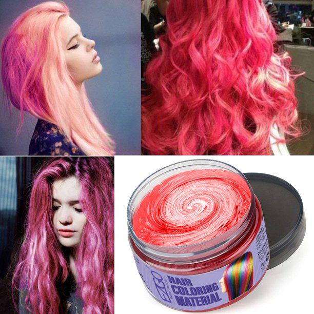 Temporary Hair Coloring Styling Cream