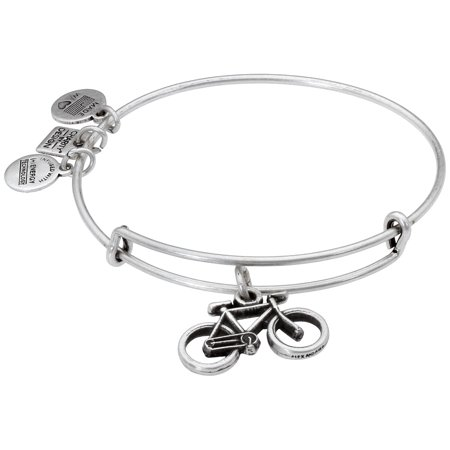 BIKE Russian Silver Charm Bangle NEW With CARD and BOX Ambers Sterling Silver Bangles