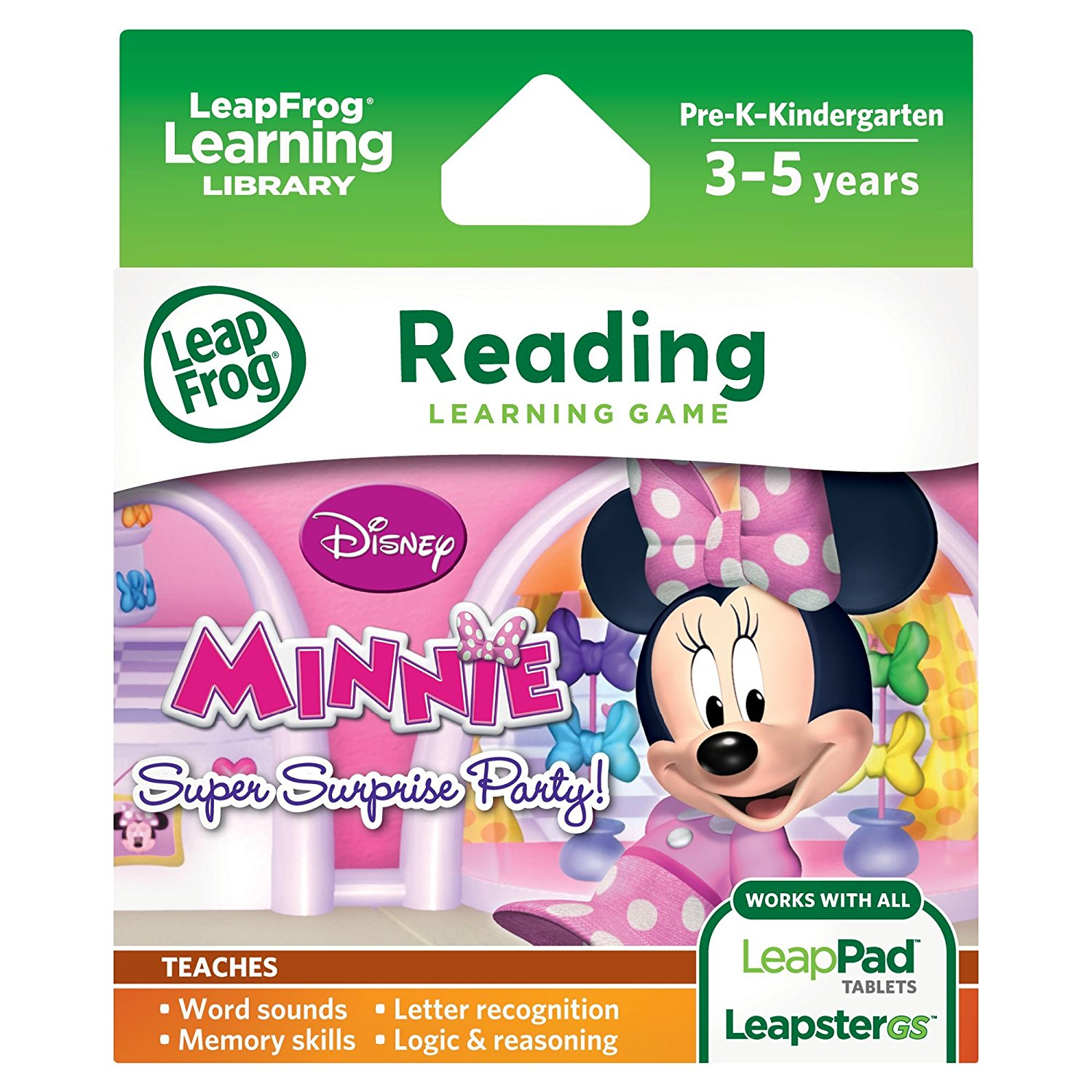 Disney Minnie's Bow-tique Super Surprise Party Learning Game (for LeapPad Platinum,... by