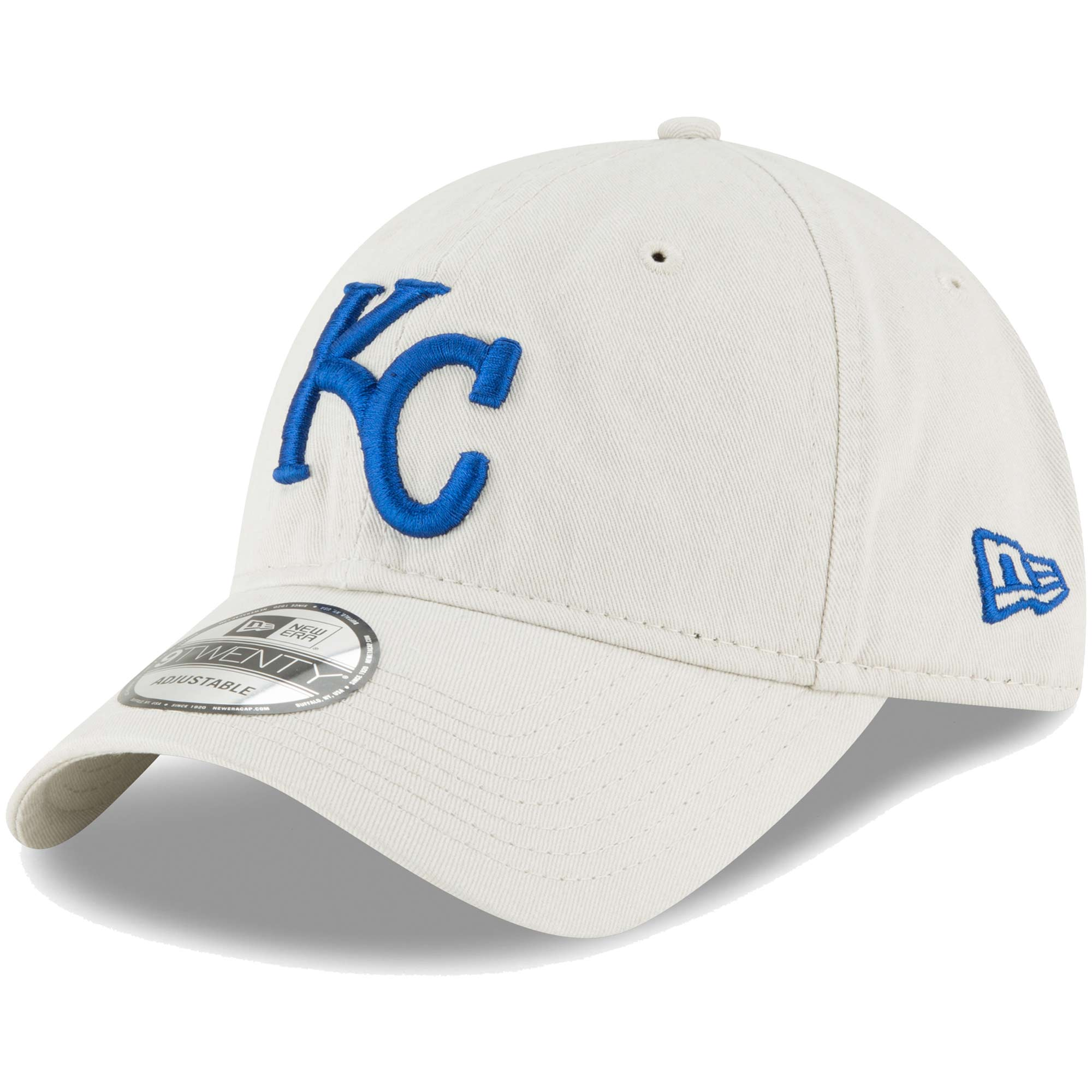 Kansas City Royals New Era Core Classic Twill 9TWENTY Adjustable Hat - Tan - OSFA
