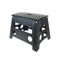"Core Pacific 12"" Step Stool Black With White Dots"