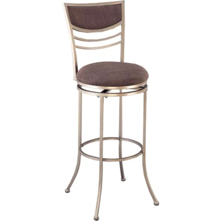 Amherst Swivel Counter Stool, Champagne