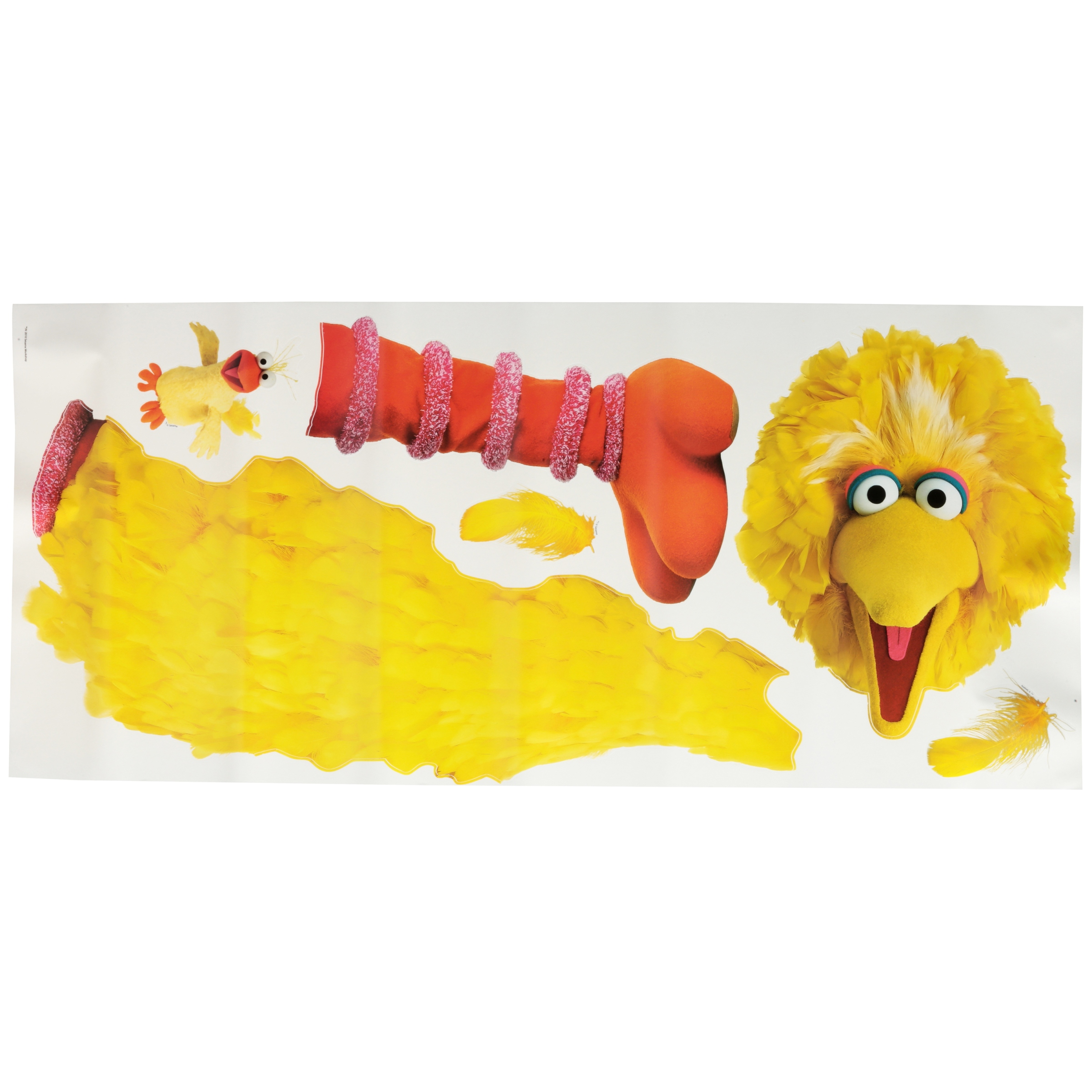 Sesame Street® Peel & Stick Wall Decals 11 ct Pack