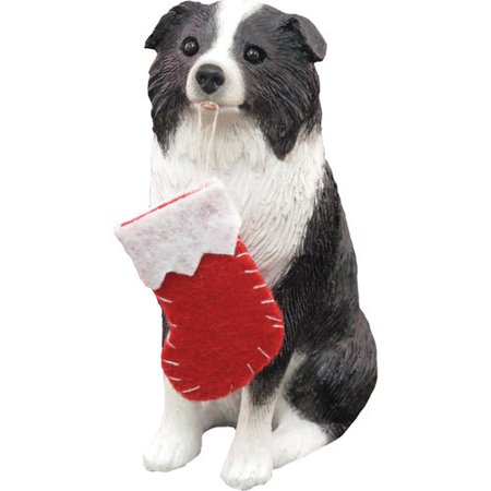 (Sandicast Collie Christmas Figurine)