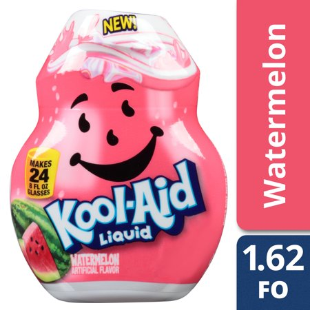 Kool-Aid Watermelon Liquid Drink Mix, 1.62 fl oz Bottle