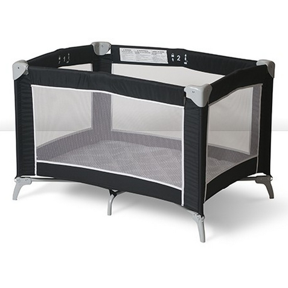 Sleep n Store Portable Crib - Black