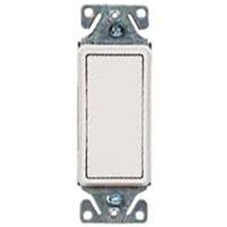 Cooper Wiring 7501W Decorator Rocker Switch - White