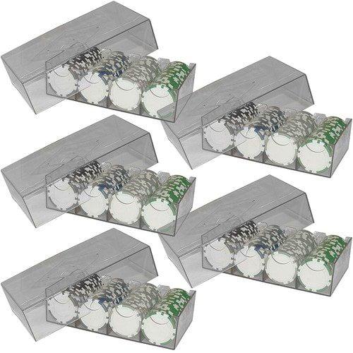 Clear Plastic Chip Storage Box