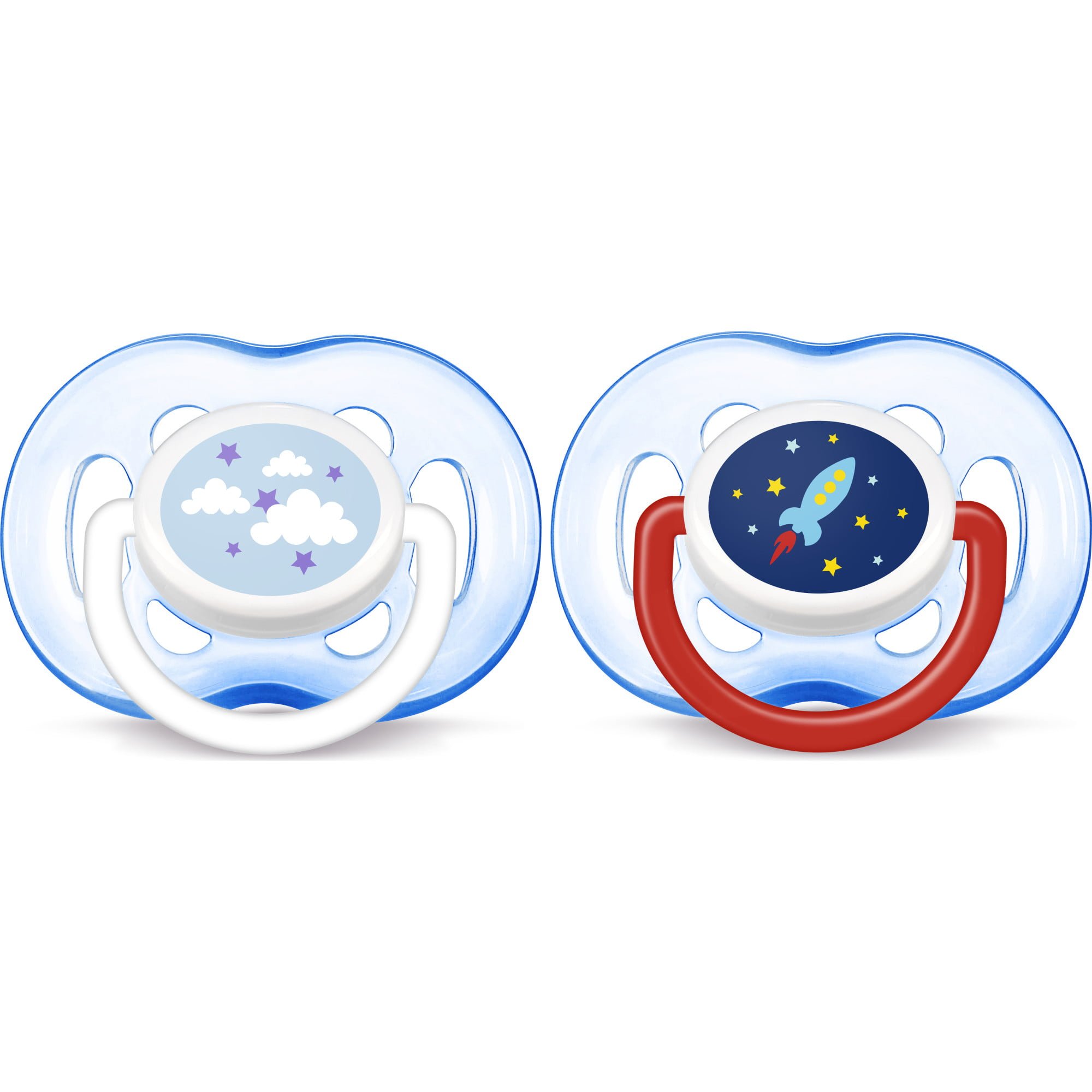 Blue SCF134//31 3 pack Philips Avent Classic Pacifiers 6-18m