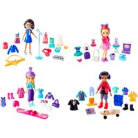 Polly Pocket Squad Style Super Pack with 40+ Themed Accessories