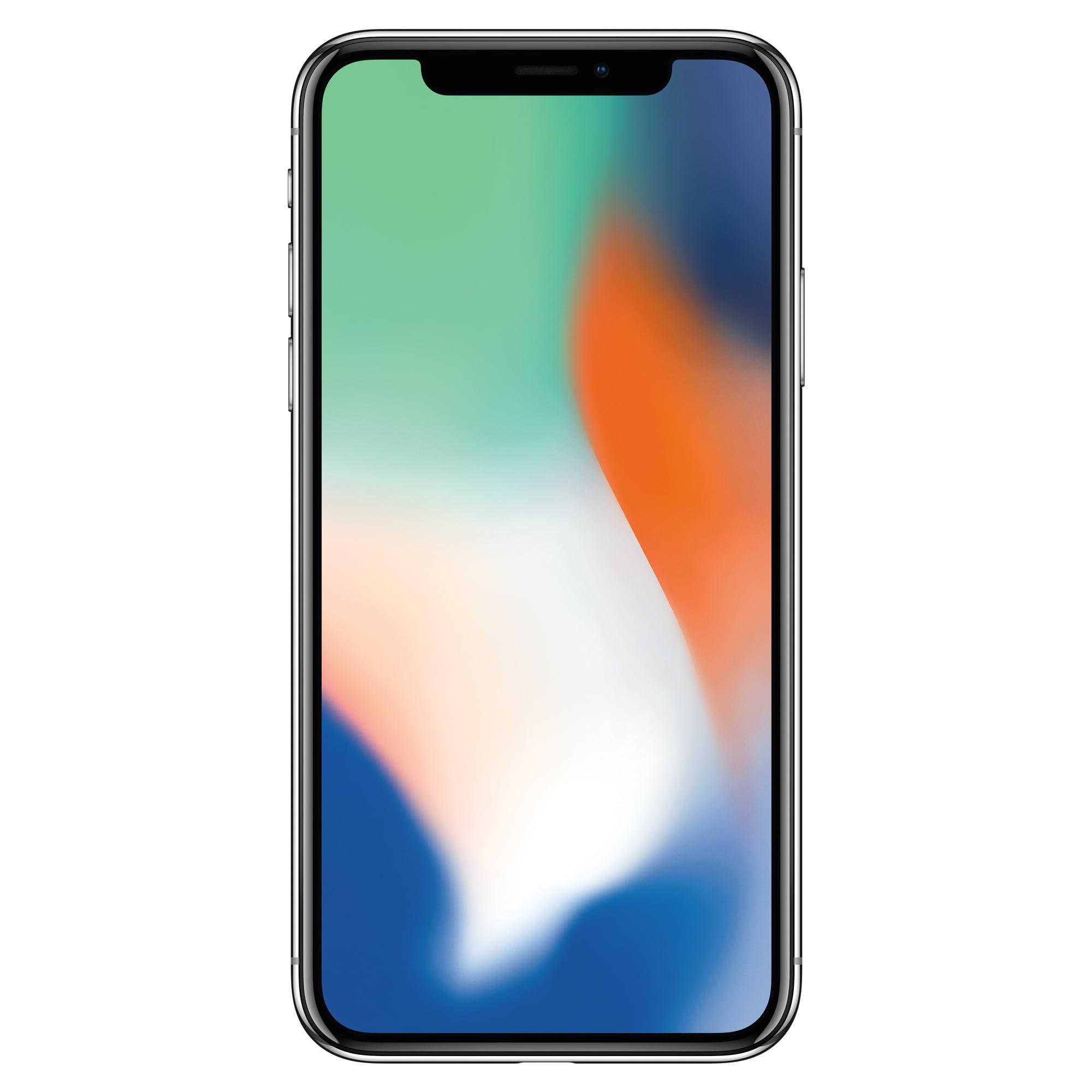 Straight Talk Apple iPhone X 64GB, Prepaid Smartphone, Space Gray