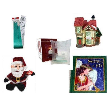 Christmas Fun Gift Bundle [5 Piece] - Myco's Best Pull Bows Set of 10 -  Village