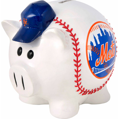 Forever Collectibles MLB Large Piggy Bank Figurine