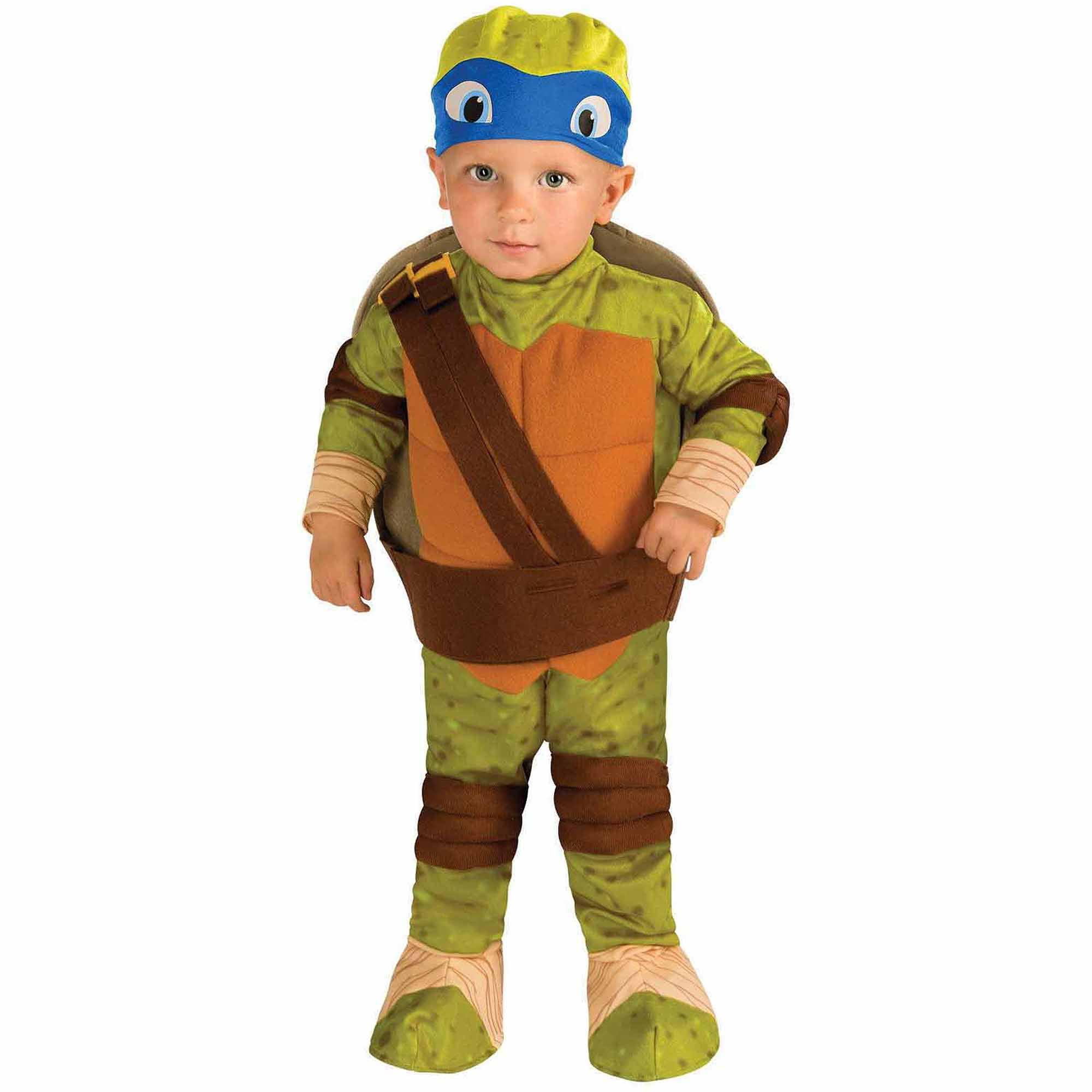 Teenage Mutant Ninja Turtle Leonardo Toddler Halloween Costume, Size 3T-4T