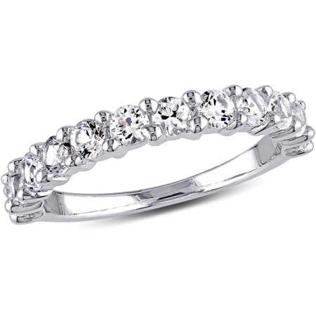 pid white women cut princess bands wedding rings eternity semi diamond band gold s