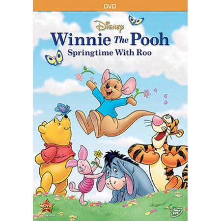 Winnie The Pooh: Springtime With Roo (DVD) - Winnie The Pooh Halloween Cd
