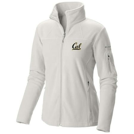 UC Berkeley Cal Embroidered Women's Columbia Polar Fleece Jacket- (Columbia Titanium Womens Jacket)