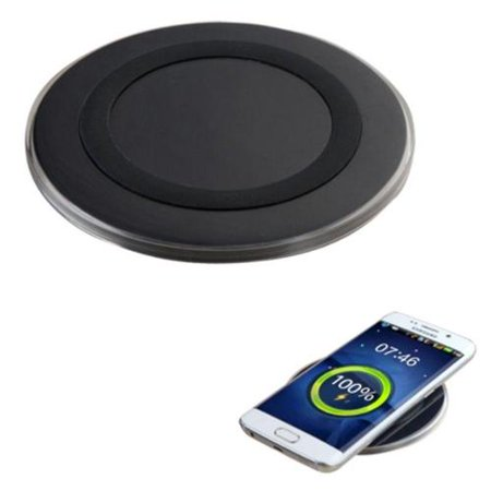 wireless iphone charger wireless charging pad by insten. Black Bedroom Furniture Sets. Home Design Ideas