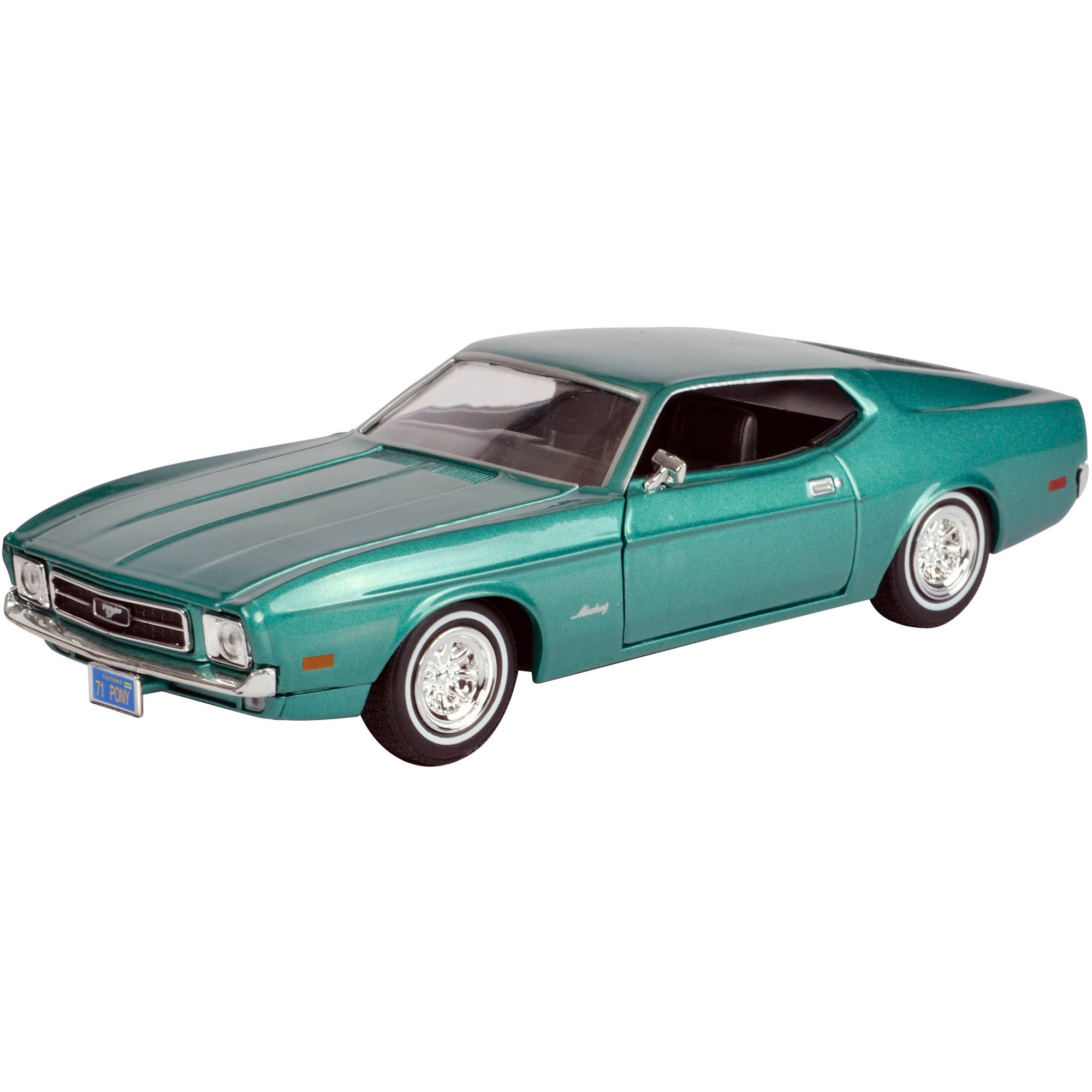 1971 Ford Mustang Sportsroof Model, 1:24 Scale