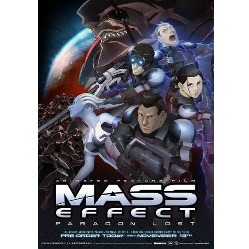 Mass Effect: Paragon Lost (Blu-ray + DVD)