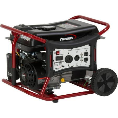 Powermate Wx3400 Portable Generator