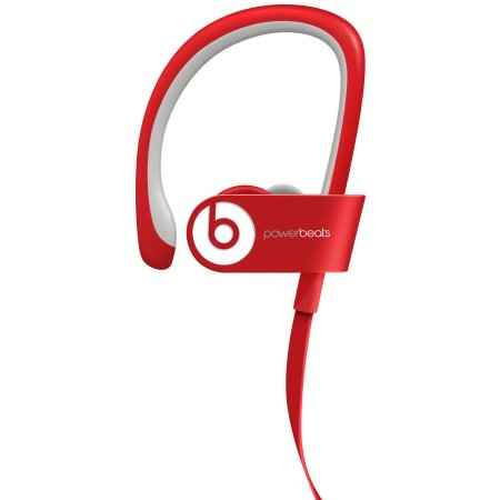 Refurbished Headphones-Beats PowerBeats 2.0 Wireless Earphones (In Ear) Red