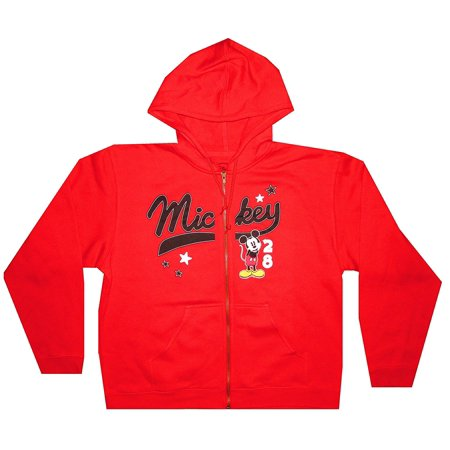 Mickey Mouse Stars #28 Fashion Zip Up Hoodie (Small) W10 - Mickey Mouse Hoodie