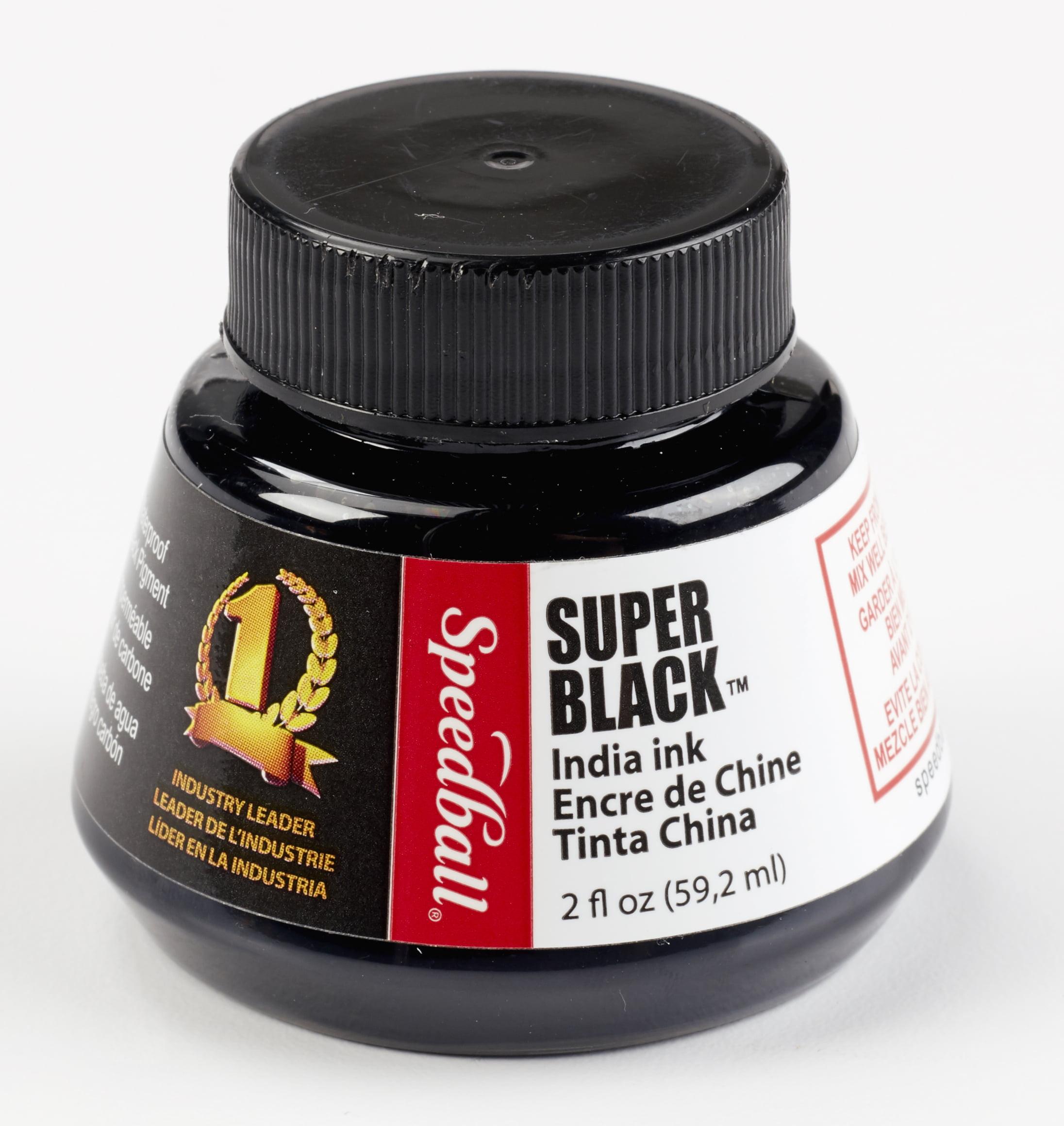 Speedball Art Super Black® India Ink, 2oz