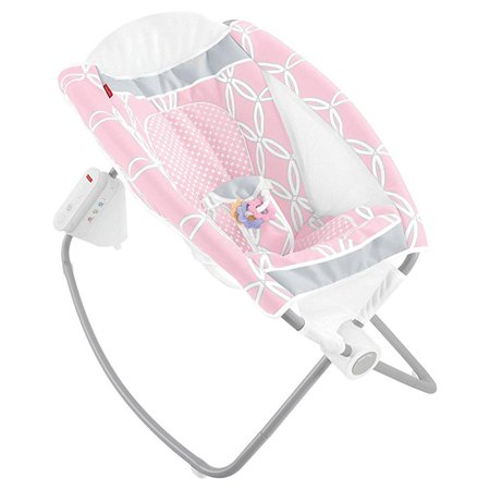 Fisher Price Auto Rock N Play Sleeper   Pink