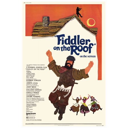 Fiddler on the Roof (1972) 11x17 Movie Poster (Fiddler On The Roof Costumes For Sale)