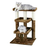 Go Pet Club Brown 35 in. Cat Tree Furniture