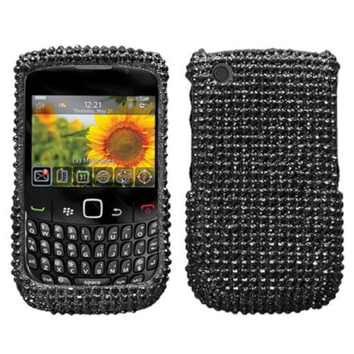 Insten Black Diamond Case For BLACKBERRY 8520 8530 9300 3G 9330 3G