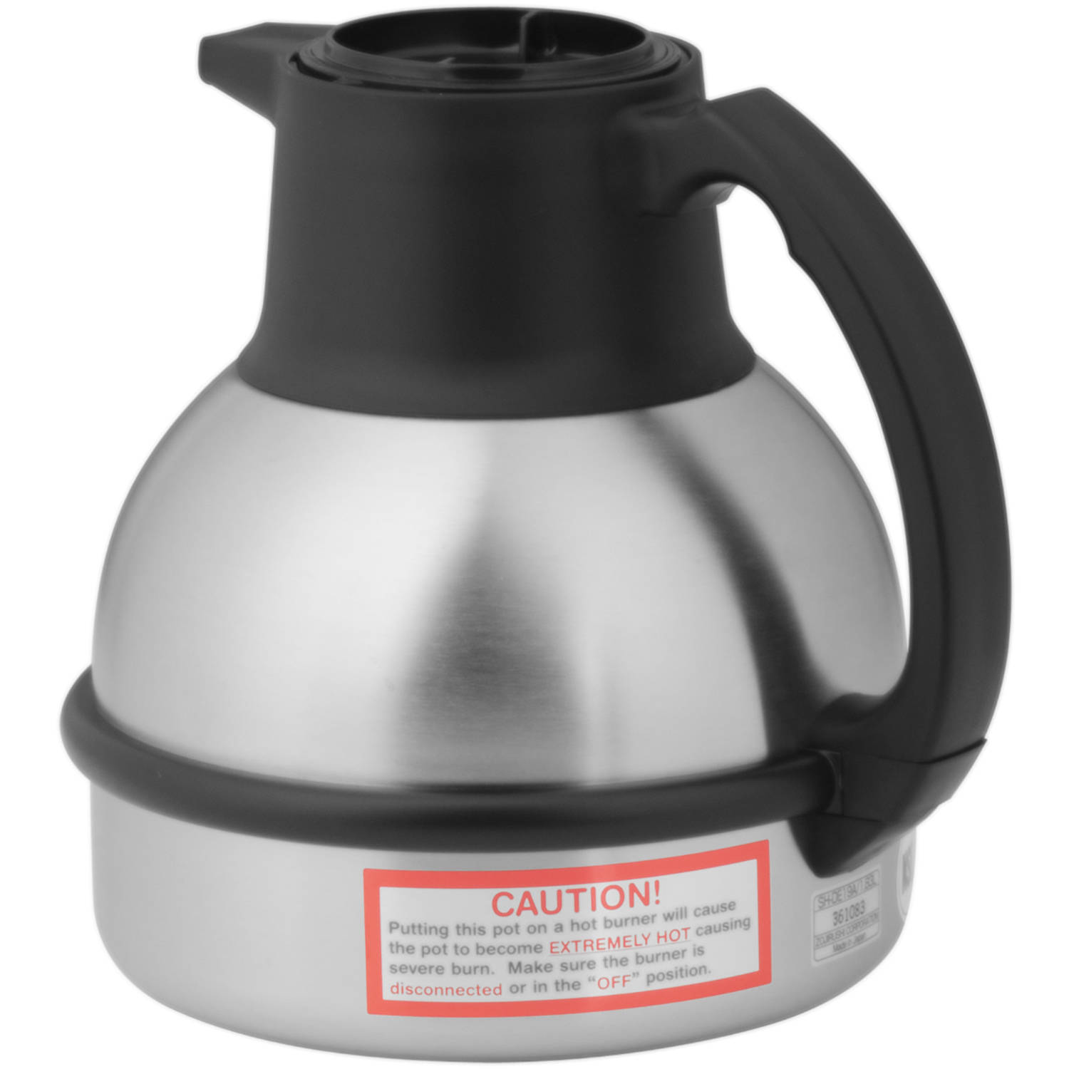 BUNN 1.9L (64 oz) Deluxe Thermal Carafe by Zojirushi, Black Handle