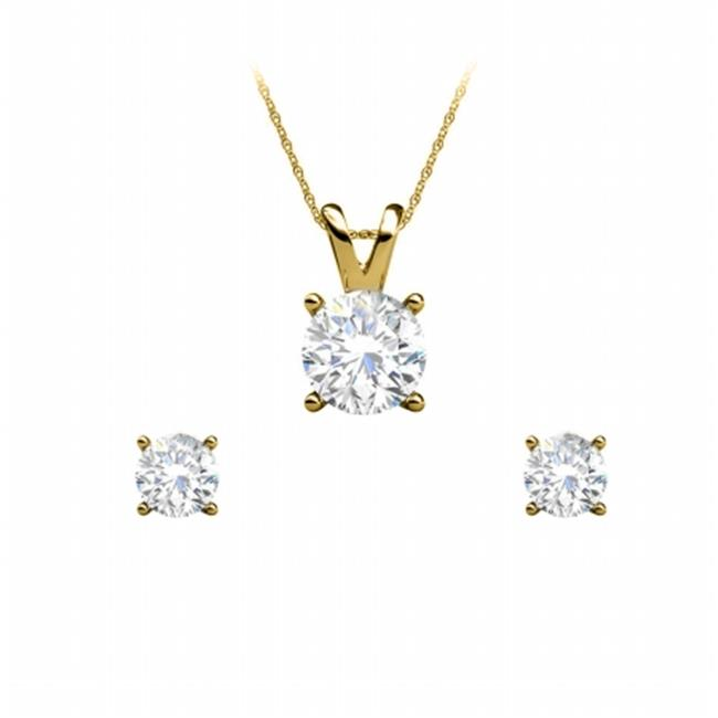 FineJewelryVault UBPDERP033ARDY14D Natural Diamond Earrin...