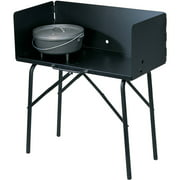 "Lodge Collapsible Outdoor Cooking Table In Steel, 16"" X 32"" X 26"", A5-7"