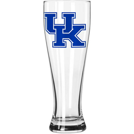 Boelter Brands NCAA University of Kentucky Wildcats 23-Ounce Grand Pilsner with Full Color Team Logo Ncaa Kentucky Wildcats Team Glass
