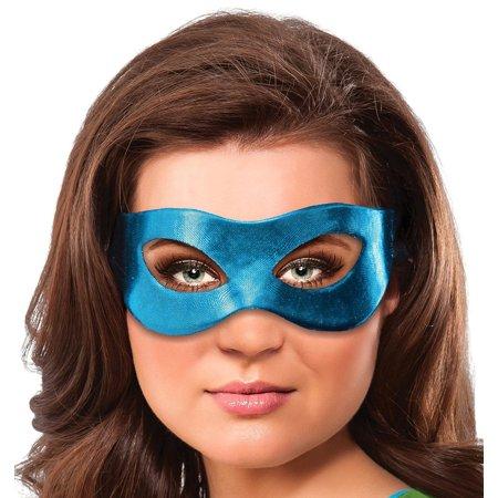 Teenage Mutant Ninja Turtles Leonardo Costume Eye Mask Adult One - Teenage Mutant Ninja Turtles Masks