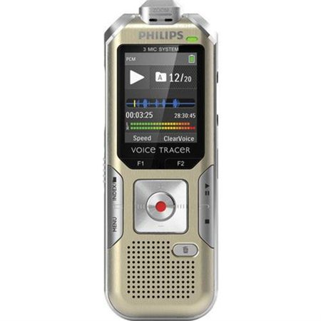 Philips Voice Tracer DVT6500 4GB Digital Voice Recorder DVT6500 00 by