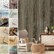 CUH Realistic 3D Vintage Brick Effect Rustic Stone Textured PVC Wallpaper Home Decor