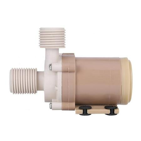Sonew Coupleurs 1/2 pour moteur sans balai, pompe à eau chaude à circulation chaude 100 ℃ CC 100 V Coupleurs pour moteur sans balai 1/2 à pompe chaude, pompe à eau pour circulation chaude - image 5 de 7