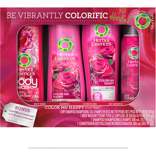 Herbal Essences Color Me Happy Gift Set, 4 pc