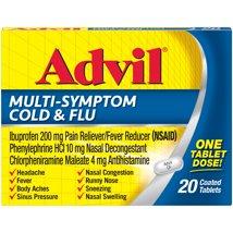 Pain Relievers: Advil Multi-Symptom Cold & Flu