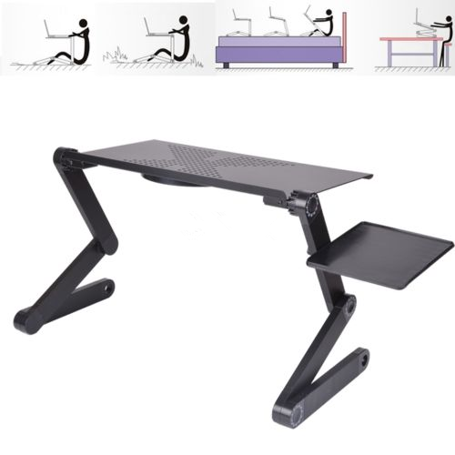 Portable laptop desk Ergonomic Adjustable Foldable Laptop Desk Table N Type Stand Portable Bed Tray laptop desk for bed