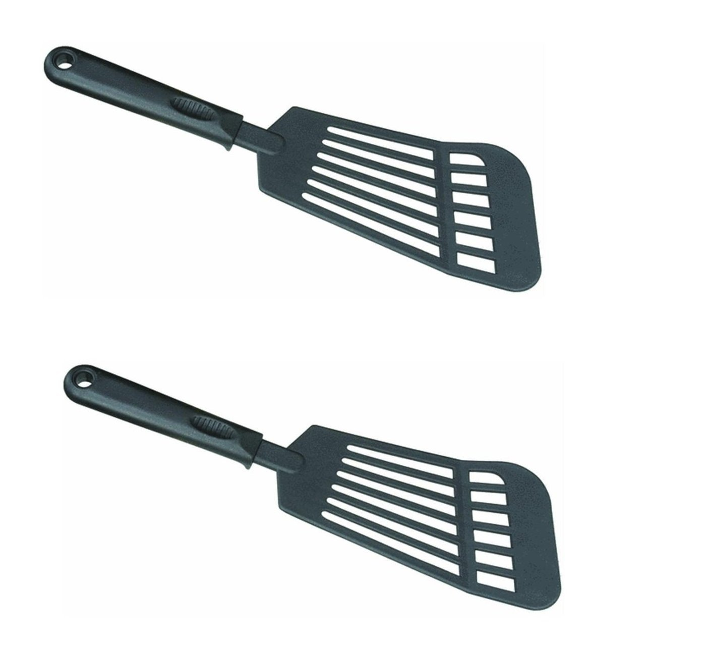 0907 Jumbo Slotted Turner, 2 Spatulas of High heat resistant to 410f 210c By Norpro by